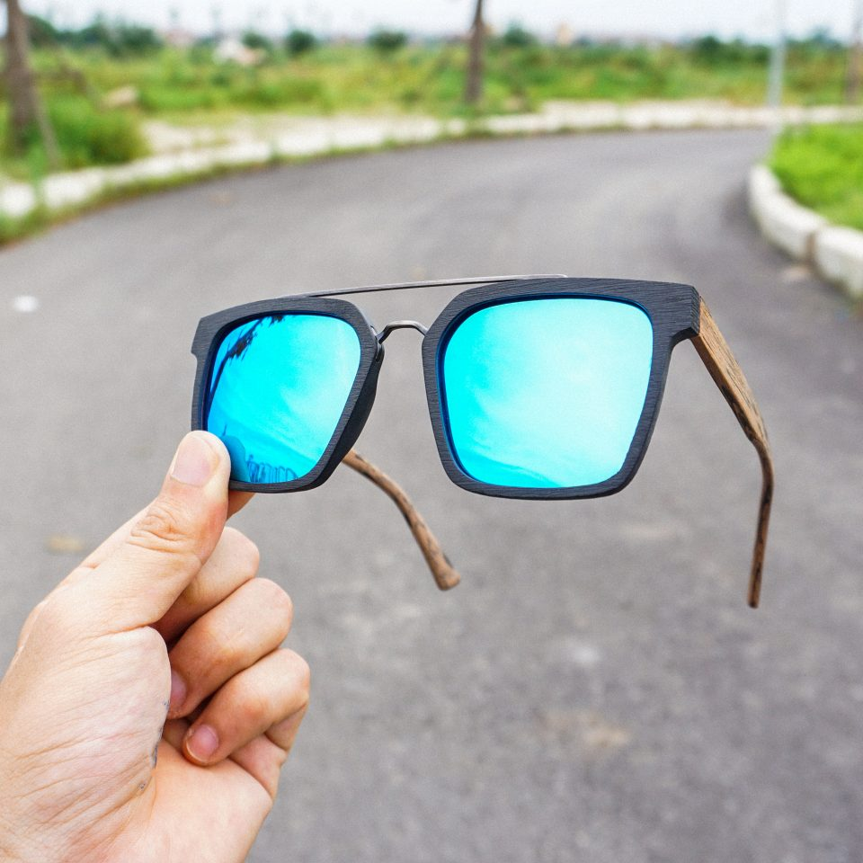 tròng kính gương RayBan