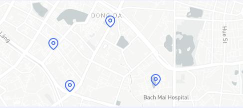 Bản đồ đến cửa hàng